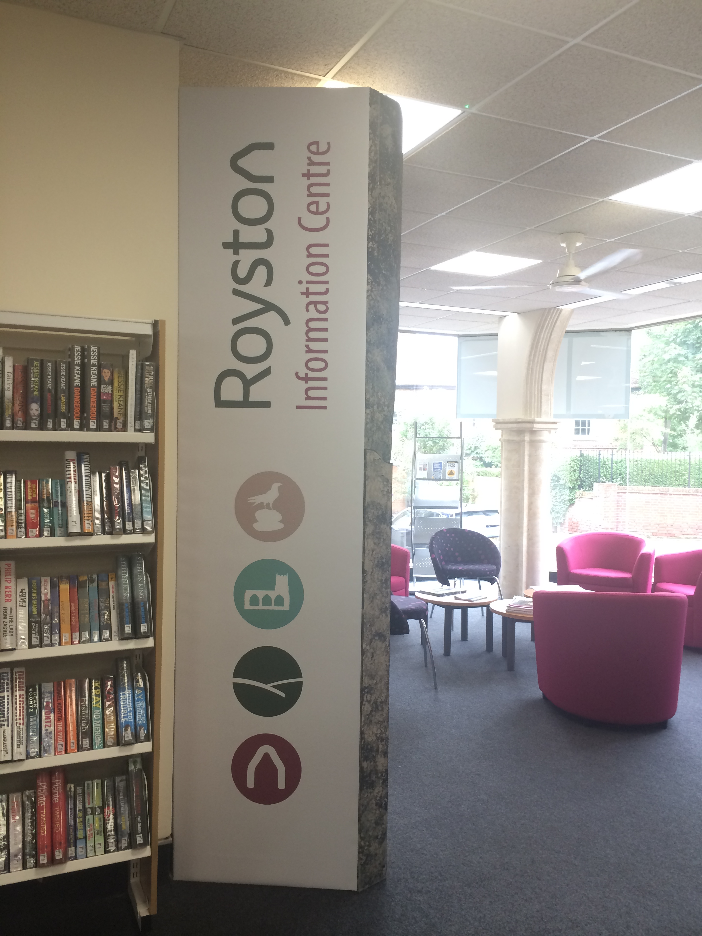 Welcome to the Royston Information Centre … at Royston Library