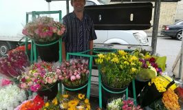 News from Royston Market – Mr Sharman's Flower Stall