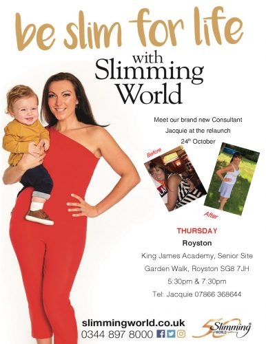 Meet Slimming World's New Consultant