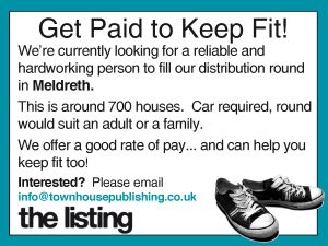 Recruitment:  Meldreth Delivery Round