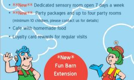 Exciting New Bury Lane Fun Barn Extension Now Open