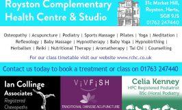 Royston Complementary Health Centre & Studio Classes