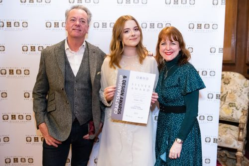 Harriet Kelsall Bespoke Jewellery's Goldsmith Apprentice, Maisie, Shines at Jewellery Oscars