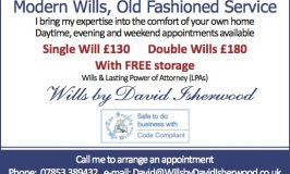 Open for Business: Wills by David Isherwood