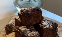 From Tallulah's Kitchen: Chocolate and Walnut Brownies