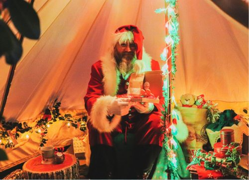 Local Businesses Launch Covid-Friendly Santa's Grotto
