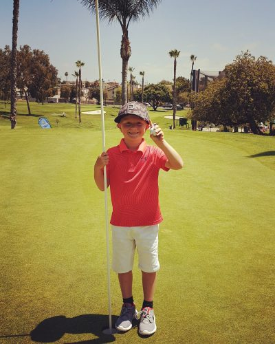 Junior Golf Champion!