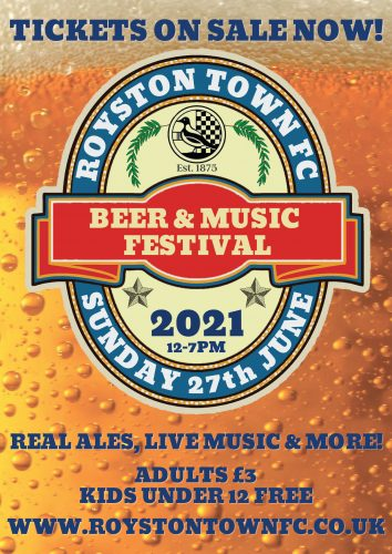 Royston Town Football Club - Beer & Music Festival @ Royston Town Football Club   England   United Kingdom
