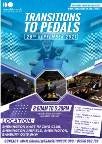 Transitions to Pedals @ Shenington Kart Racing Club | Shenington | England | United Kingdom