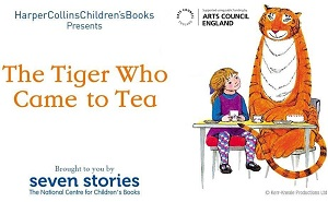 The Tiger who came to Tea Exhibition @ North Hertfordshire Museum | England | United Kingdom