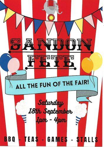 Sandon Fete @ Sandon Village Green and Village Hall | Sandon | England | United Kingdom