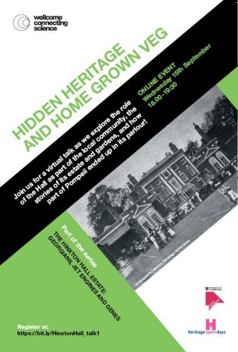The Hinxton Hall Estate: Hidden Heritage and Home Grown Veg @ Online