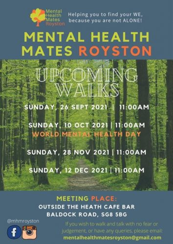 Mental Health Mates Royston @ Therfield Heath Cafe | England | United Kingdom