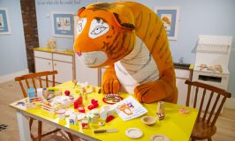 Out and About… The Tiger Who Came to Tea