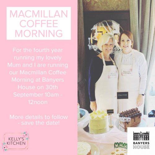 Macmillan Coffee Morning @ Banyers House | England | United Kingdom