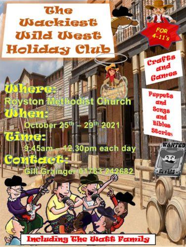 The Wackiest Wild West Holiday Club @ Royston Methodist Church | England | United Kingdom