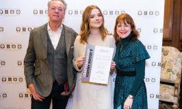 Harriet Kelsall Bespoke Jewellery's Goldsmith Apprentice, Maisie, Shines at Jewellery Oscars