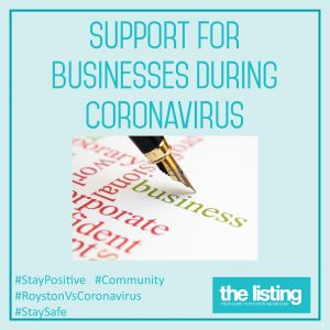 Business Support During Coronavirus