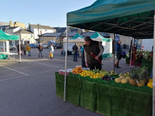 Royston Market: Traders are Returning
