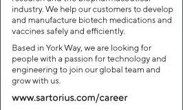 Recruitment:  Sartorius