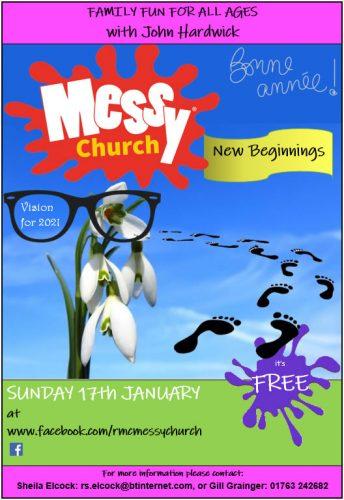Messy Church @ Online