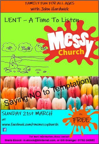 Messy Church for Lent @ Online