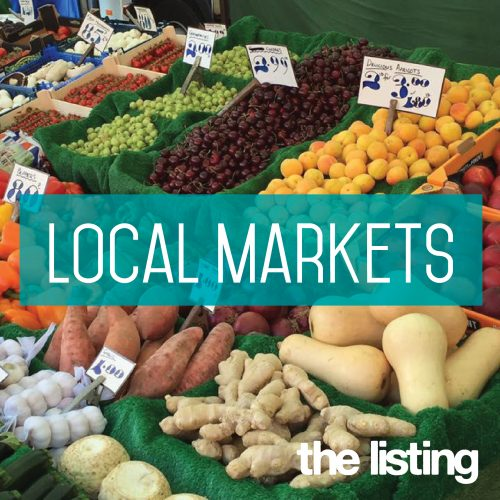 News from our Local Markets
