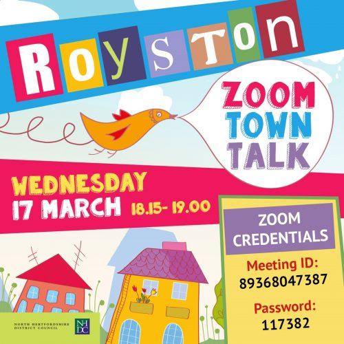 Royston Zoom Town Walk @ Online