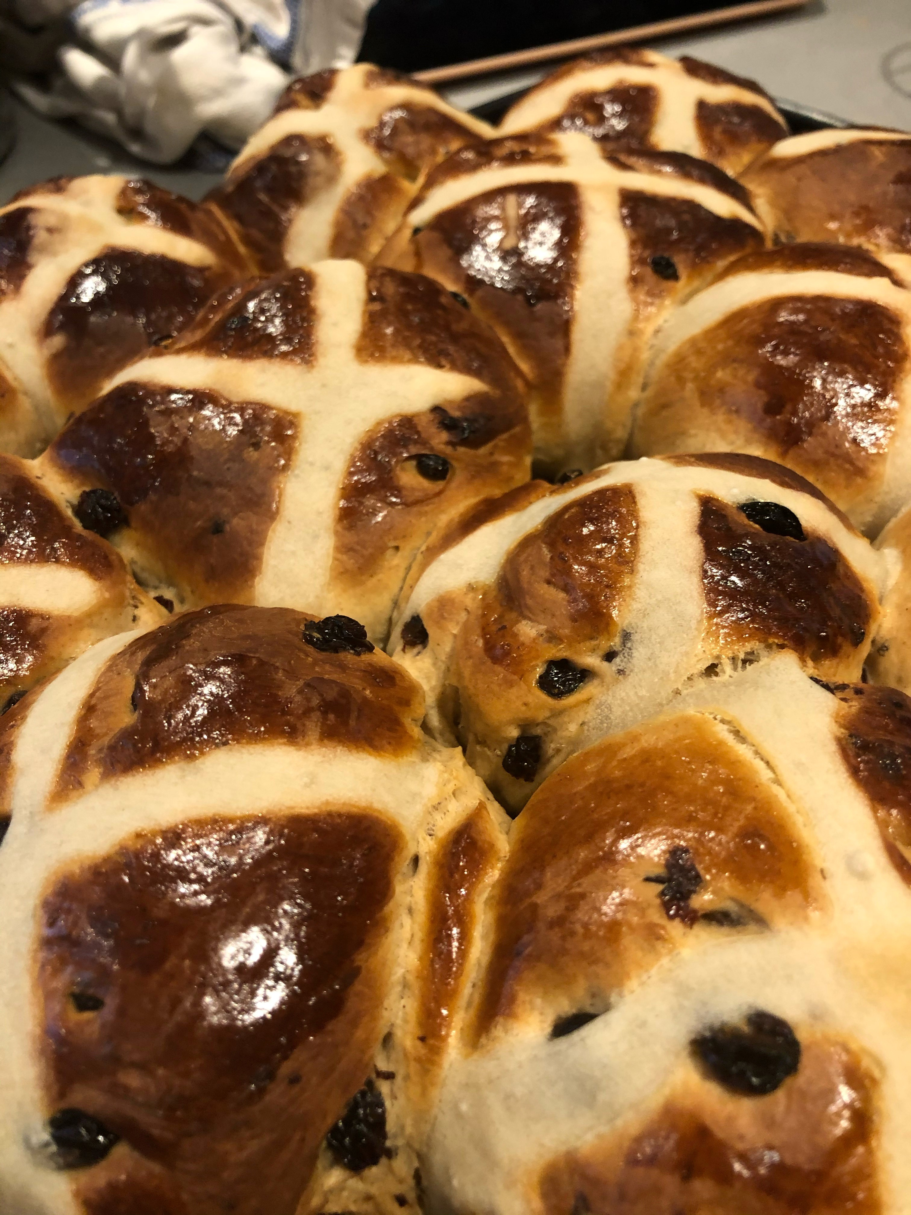 Tallulah's Kitchen: Hot Cross Buns