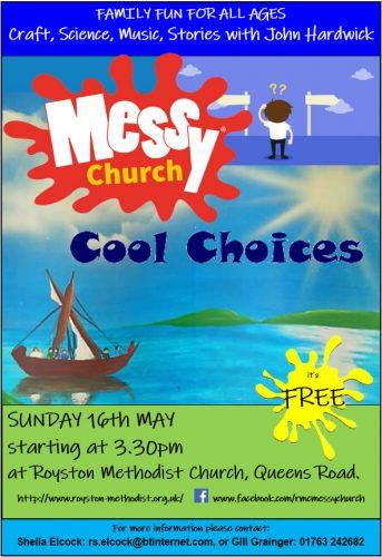 Messy Church for May - Cool Choices @ Royston Methodist Church | England | United Kingdom