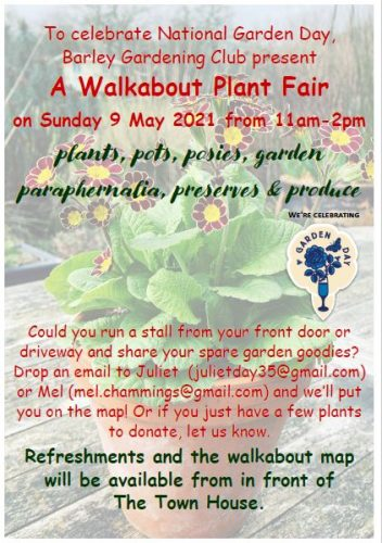 Walkabout Plant Fair @ Throughout Barley