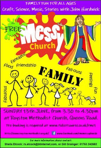 Messy Church @ Royston Methodist Church | England | United Kingdom