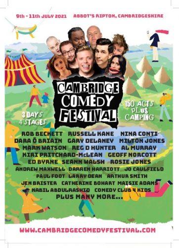 Cambridge Comedy Festival @ Abbot's Ripton | Abbots Ripton | England | United Kingdom