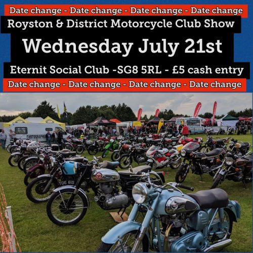 Out and About… Royston and District Motorcycle Show