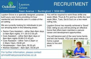 Recruitment:  Oakdale Care Group