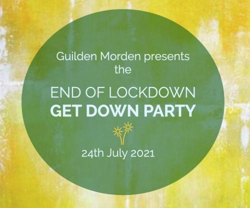 End of Lockdown Get Down Party @ Guilden Morden Rec | Guilden Morden | England | United Kingdom