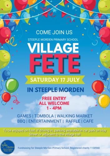 Steeple Morden Village Fete @ Steeple Morden Primary School | Steeple Morden | England | United Kingdom