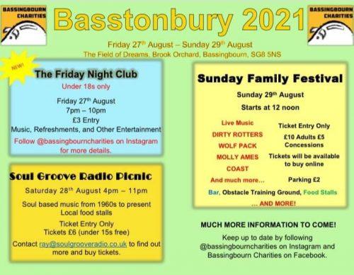 Basstonbury - The Friday Night Club @ The Field of Dreams, Brook Orchard, Bassingbourn | Bassingbourn | England | United Kingdom