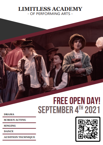 Limitless Academy Open Day @ Limitless Academy of Performing Arts | England | United Kingdom